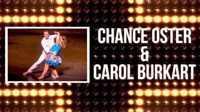 Chance Oster & Carol Burkart - DWTS Dubuque 2018
