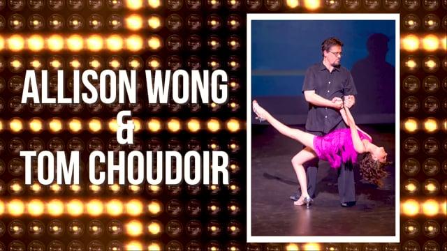 Allison Wong & Tom Choudoir - DWTS Dubuque 2018