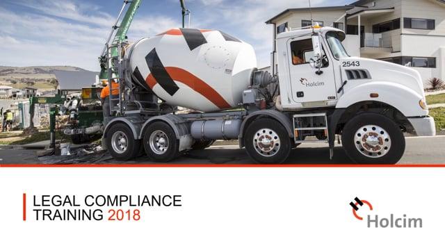 Holcim Compliance Training