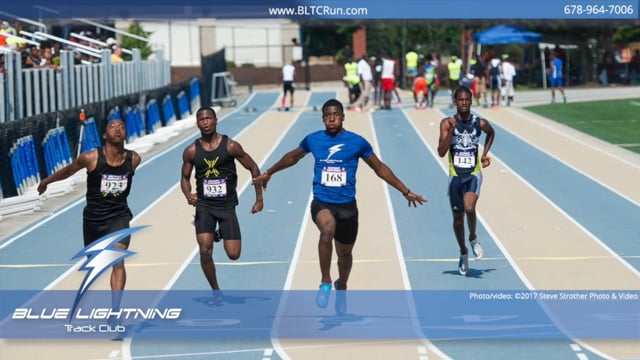 Blue Lightning Track Club 2018 AAU District Qualifiers