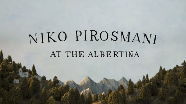 Pirosmani at the Albertina