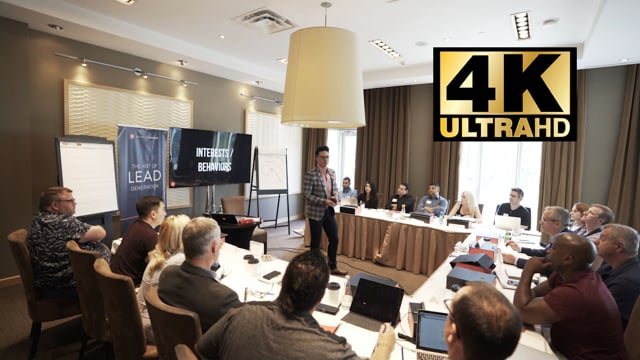 THE ART OF LEAD GENERATION WITH NICHOLAS KUSMICH 4K ULTRA HD