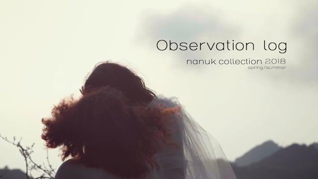 nanuk 2018 collection spring/summer – Observation log – Tsuzaki ver2