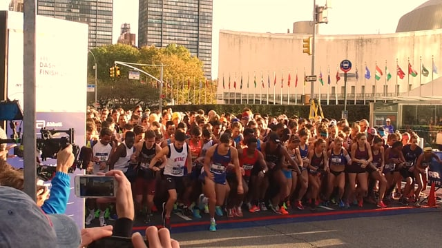 New York marathon 2017