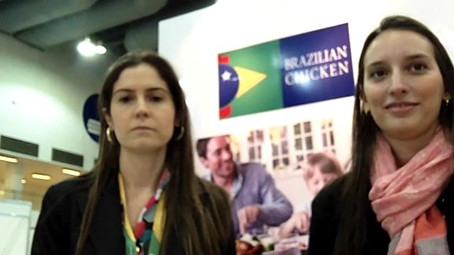 Promoción de pollo y huevo de Brasil en Alimentaria 2014 en México