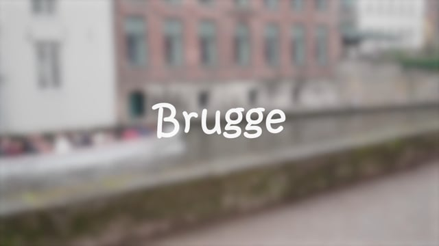 01 - West-Vlaanderen - Niveau 1 - Brugge