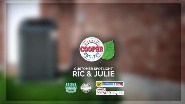 Cooper HVAC - Customer Spotlight - Rick & Julie