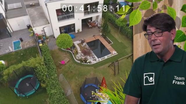 Duell der Gartenprofis: Ein Schwimmteich für Familie Rick