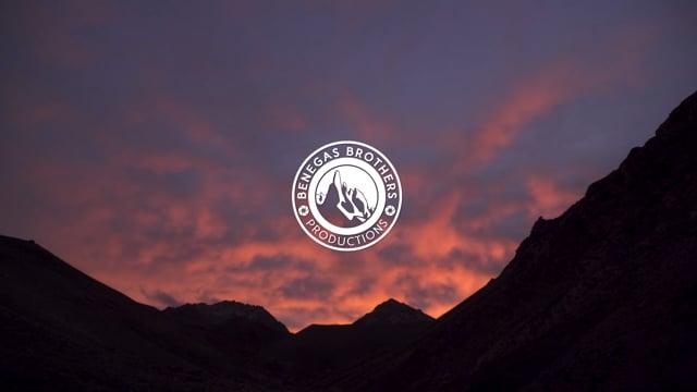 Exploration mountain biking in cerro Penitentes