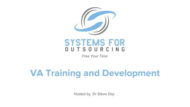 VA Training and Development