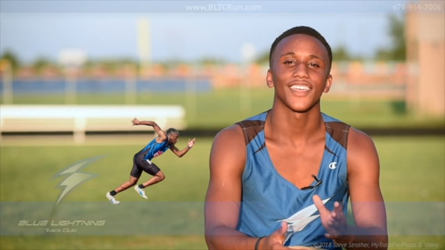 Joshua Rollerson, National Junior Olympian, 400 - Blue Lightning Track Club