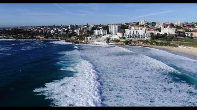 Bondi Beach 2018 Aerial