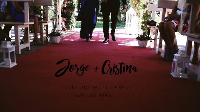 Video Boda Jorge & Cristina - Jardín de Azahares