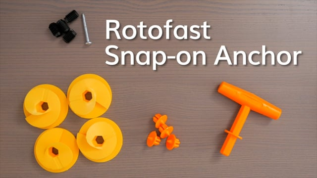 Rotofast Snap-on Anchor Installation Video