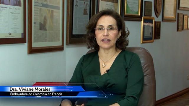 ENTREVISTA VIVIANE MORALES: EMBAJADORA DE FRANCIA