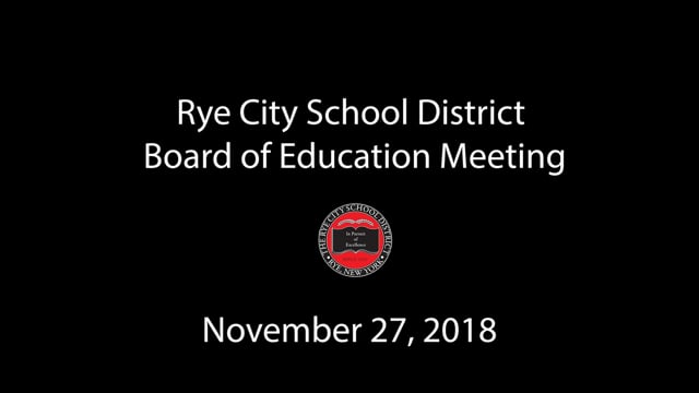 RCSD BOE 11-27-2018