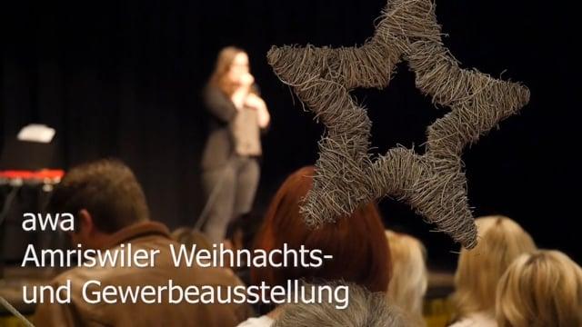 Amriswiler Weihnachts- und Gewerbeausstellung musikalisch eröffnet