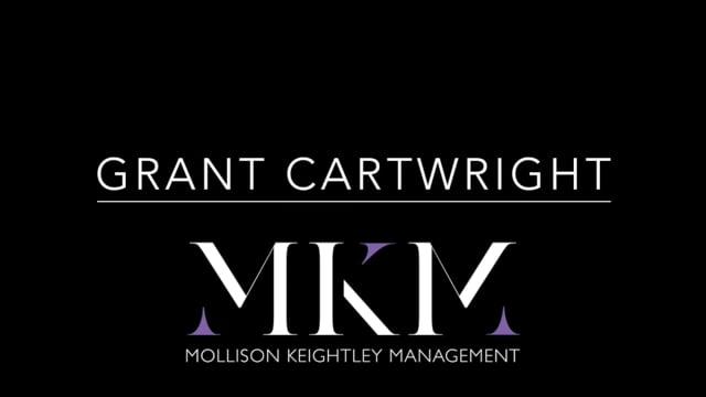 Showreel for Grant Cartwright