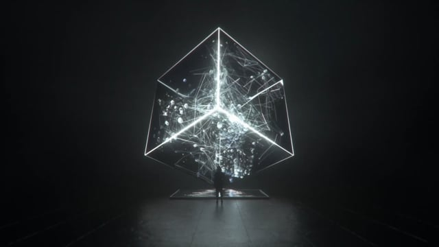 DATA GATE _ World's First AI Astronomical Research Data Sculpture Public Art