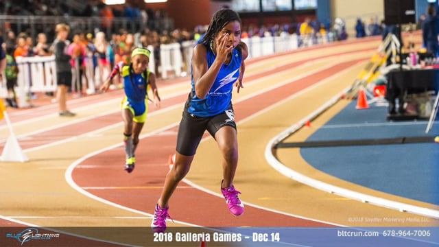 2018 Galleria Games Blue Lightning Track Club Action Photos