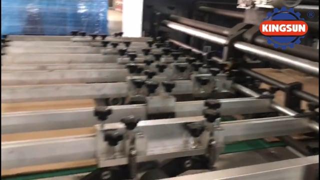 KMHC-E Series Semi-automatic Paper Box Die Cutter Machines | Corrugated Box Die Cutting Machine Supplier - Kingsun