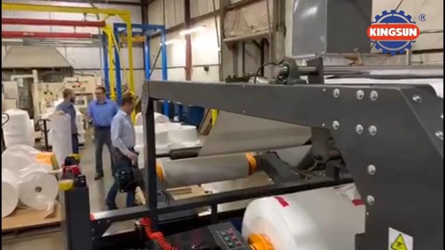 KSM-1700 Twin Rotary Knife Paper Sheeting Machine