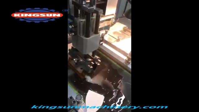 UV Dryer Label Screen Printing Machine