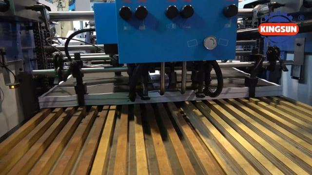 SW-820 model automatic thermal laminator machine | Automatic BOPP thermal film laminating machine