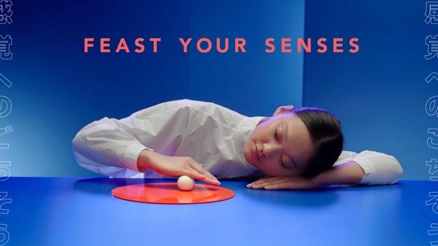 Shiseido - Feast Your Senses