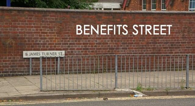 BENEFITS STREET: SERIES 1 - Landmark Grierson nominated programme.