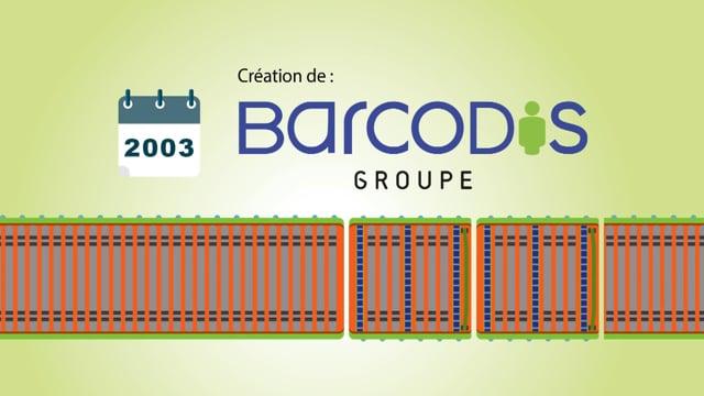 Groupe Barcodis en quelques dates