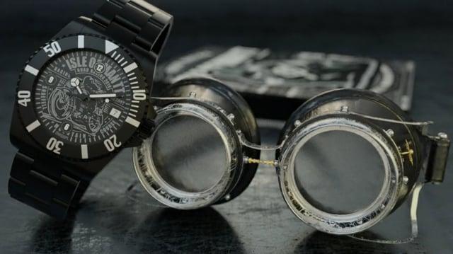 Isle Of Man timepiece, SwissPL