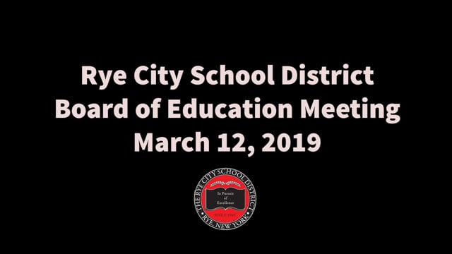 RCSD BOE 3-12-2019