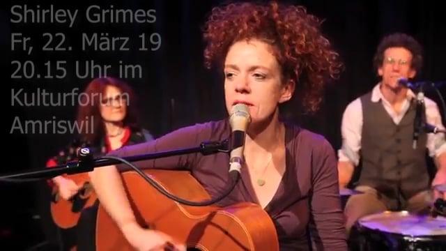Shirley Grimes im Kulturforum Amriswil