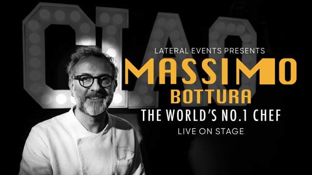 Massimo Bottura – The Best Chef in the World - Live on Stage