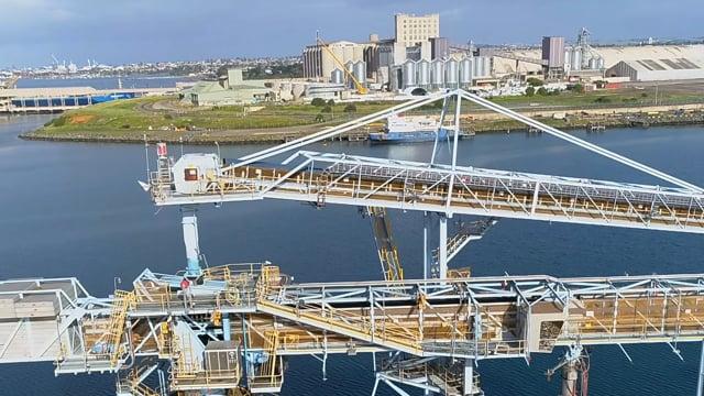 Geelong Port Aerial