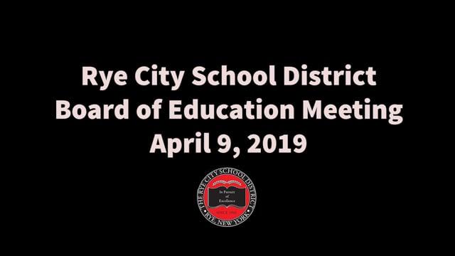 RCSD BOE 4-9-2019