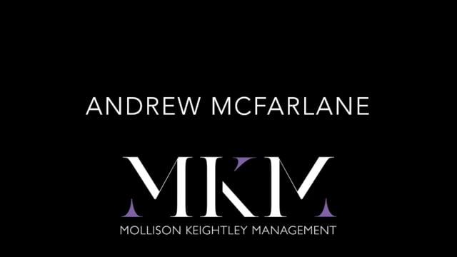 Showreel for Andrew McFarlane