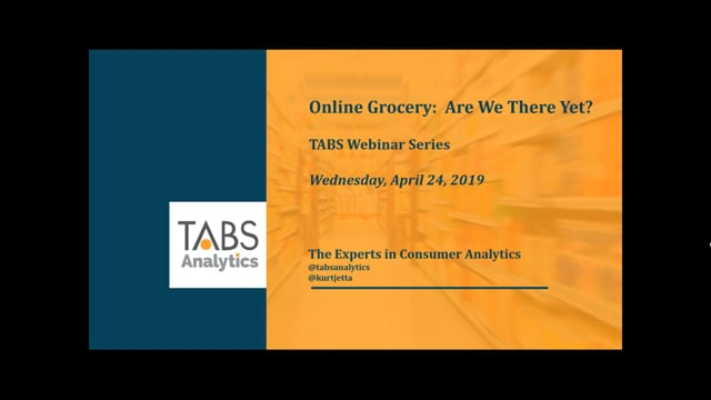 Online Grocery  Are We There Yet (04/24/2019)