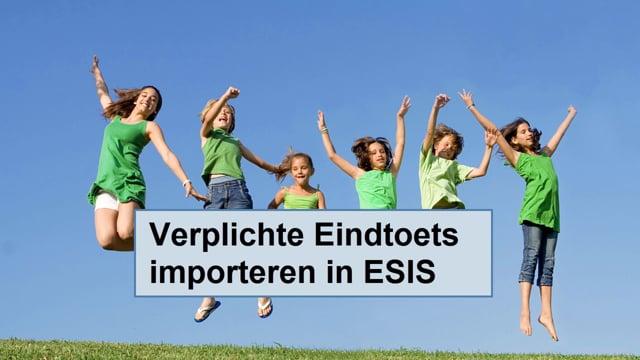 ESIS: Verplichte Eindtoets 2019