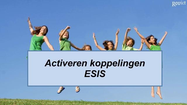 ESIS: Koppelingen activeren ESIS