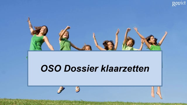 ESIS: Klaarzetten OSO-dossier