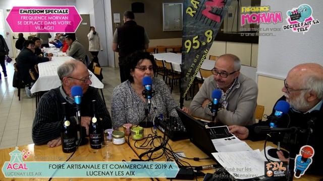 FOIRE ARTISANALE ET COMMERCIALE DE LUCENAY LES AIX 2019-STANDS PRODUITS DE BOUCHE