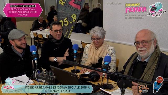 FOIRE ARTISANALE ET COMMERCIALE DE LUCENAY LES AIX-ARTISANAT BATIMENT AMENAGEMENT
