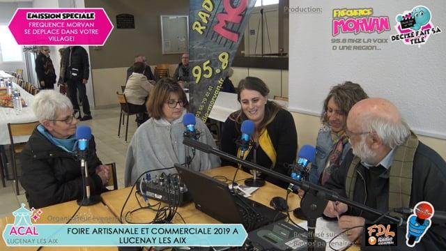 FOIRE ARTISANALE ET COMMERCIALE DE LUCENAY LES AIX 2019-ARTISANAT D'ART