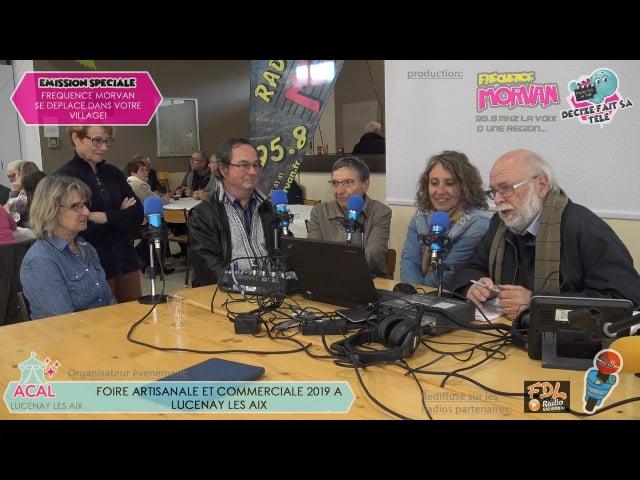 FOIRE ARTISANALE ET COMMERCIALE DE LUCENAY LES AIX 2019-LA GIGUE DORNOISE