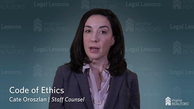 Code of Ethics update