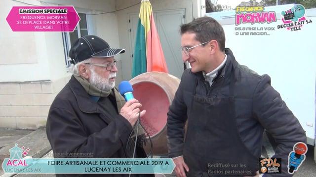 FOIRE ARTISANALE ET COMMERCIALE DE LUCENAY LES AIX 2019-SYLVAIN CONFISEUR
