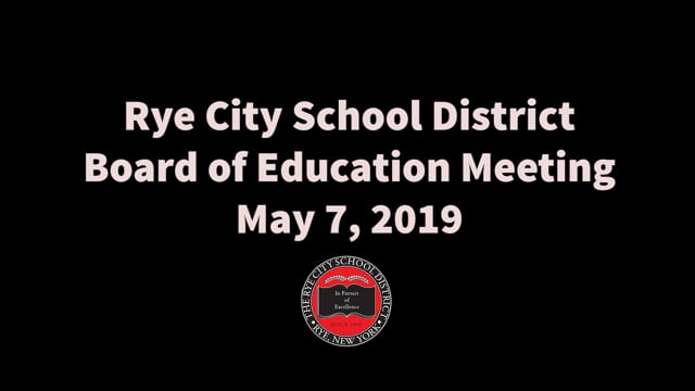 RCSD BOE 5-7-2019