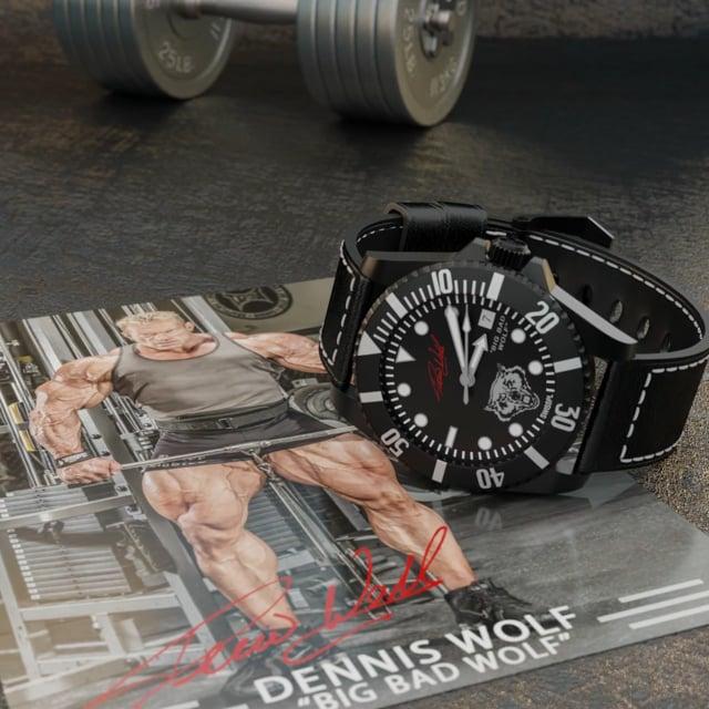 Champion Bodybuilder Dennis Wolf timepiece